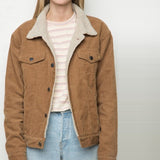 Shearling Jacket in Tan