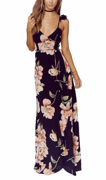 On Second Thought: Floral Maxi Dress