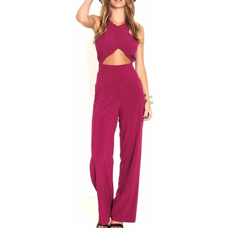 On Second Thought: Fuschia Jumpsuit