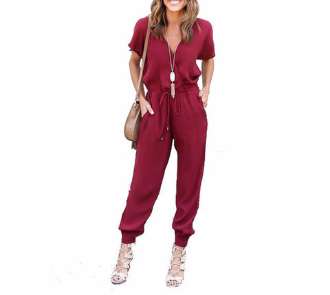 On Second Thought: Short Sleeve Jumpsuit