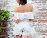On Second Thought: Off the Shoulder Romper