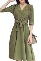 On Second Thought: Olive Midi Dress