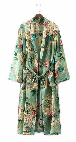 On Second Thought: Floral Vintage Kimono Jacket