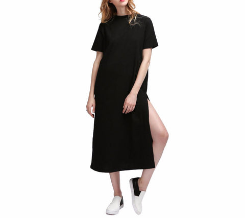 On Second Thought: Shirt Dress with Side Slits