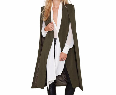 On Second Thought: Trench Coat Duster Cape