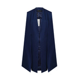 Trench Cape Duster in Navy