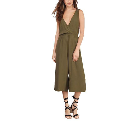 On Second Thought: Deep V-Neck Jumpsuit