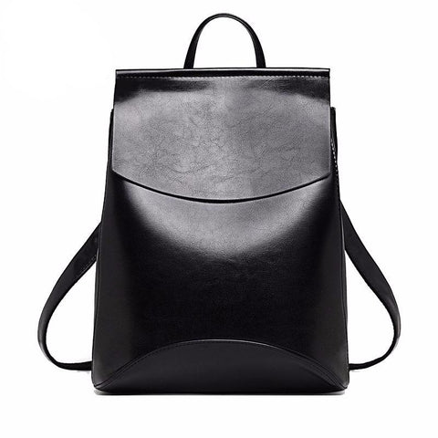 The Accessory Collection: Faux Leather Backpack