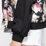 On Second Thought: Floral Bomber Jacket