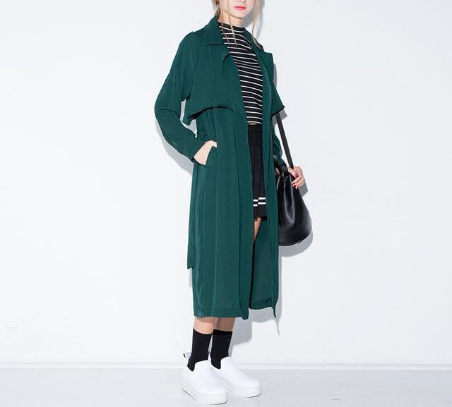 Marine Green Trench