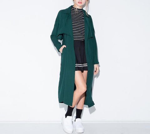 On Second Thought: Marine Green Trench
