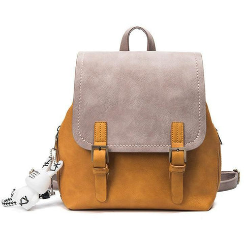 The Accessory Collection: Color Block Backpack