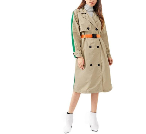On Second Thought: Gucci-Spired Trench in Colorblock
