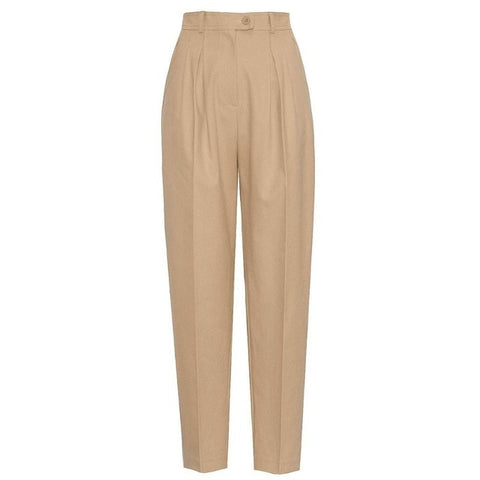 On Second Thought: Pleated Front High Waist Trousers