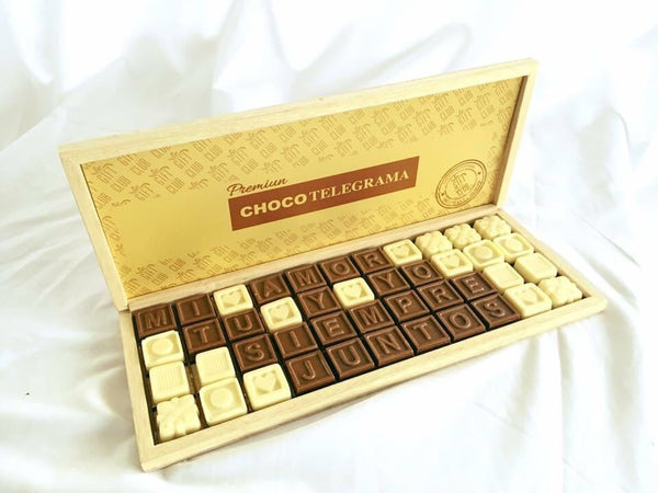 PREMIUM CHOCOTELEGRAMA BLANCO - Gift Club  - 1