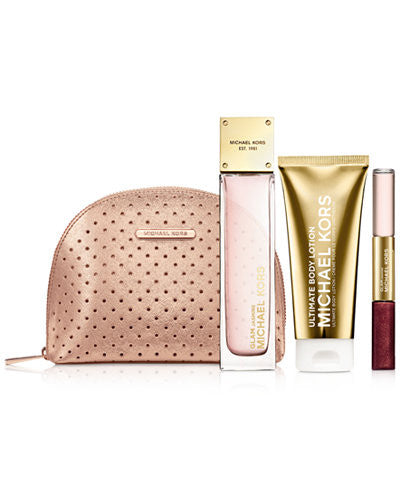 Glam Jasmine Michael Kors Set with bag - Authentic Perfumes