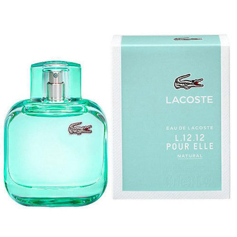 L.12.12 Pour Elle Natural by Lacoste for women - Authentic Perfumes