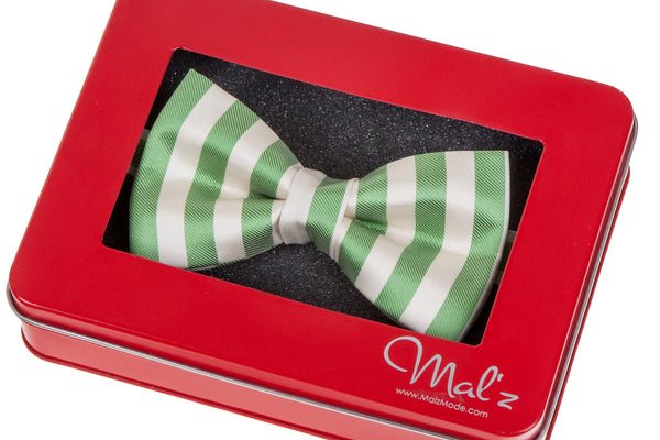Candy Stripe Bow Tie