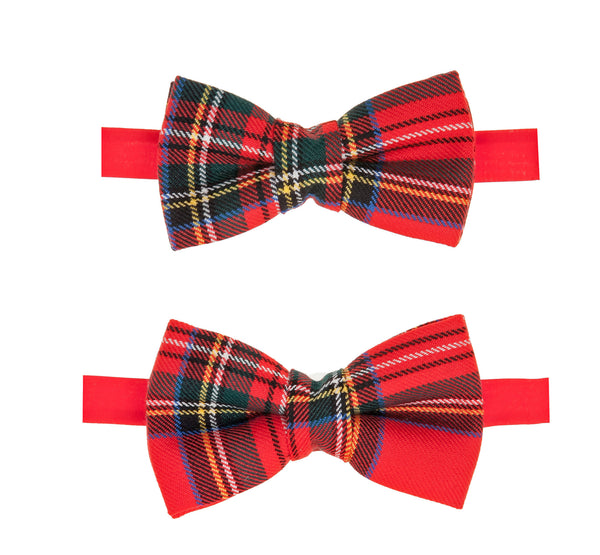 Festive GMG Father and Son Fashion Bow Tie