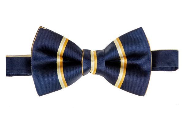 Classic Striped Bow Tie