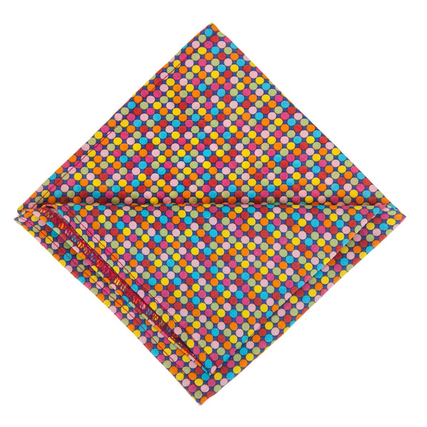 Multicoloured Pocket Square