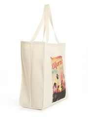 Cool and Classic - California - Beach Sunset - Cotton - Tote Bag