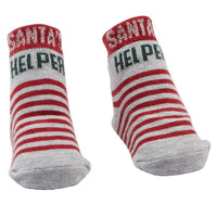 Mud Pie Santa Helper Socks