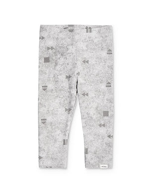 Miles Baby Girls Light Gray Baby Leggings