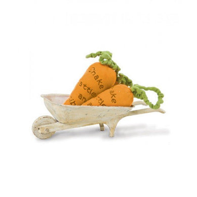 Bunnies by the Bay Carrot Rattle - gigisbabyboutique