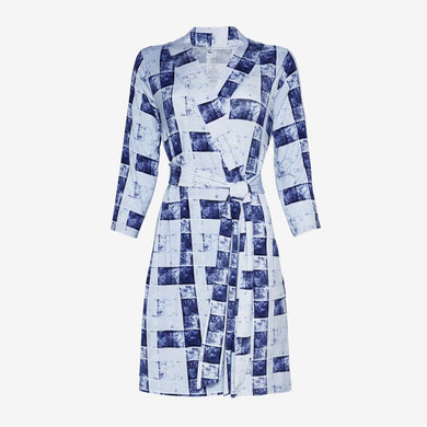 Posh Peanut Mommy Robe -Blue Denim