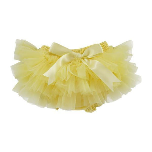 Mila & Rose Yellow Ruffle TuTu Bloomer