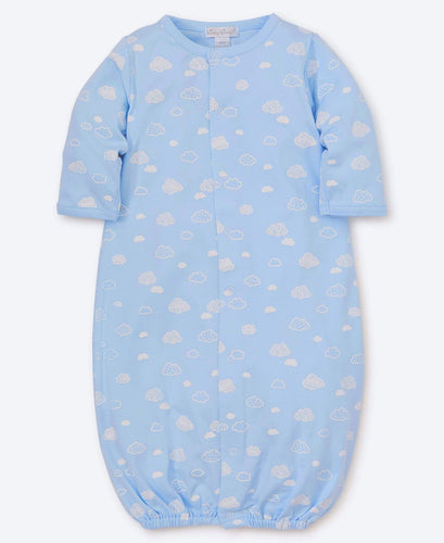 Kissy Kissy Blue Converter Gown - Cotton Clouds