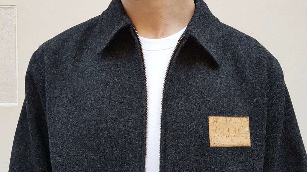 Blouson Badge - Anthracite