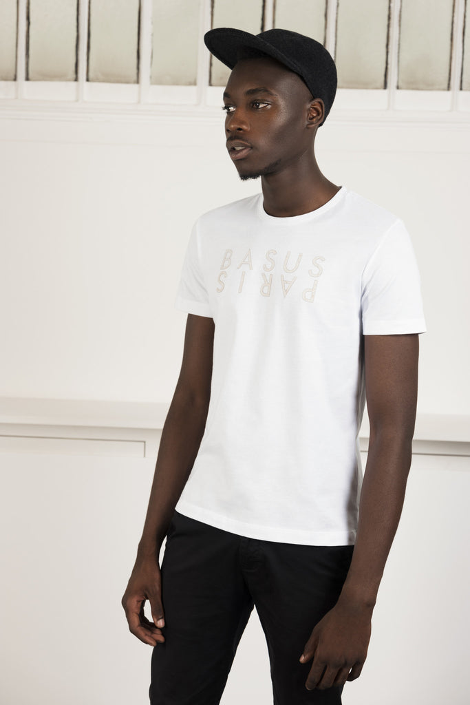 T-Shirt Basus - Paris Blanc