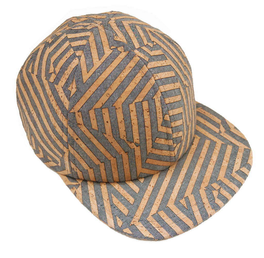 Casquette denim Zebra - Grey