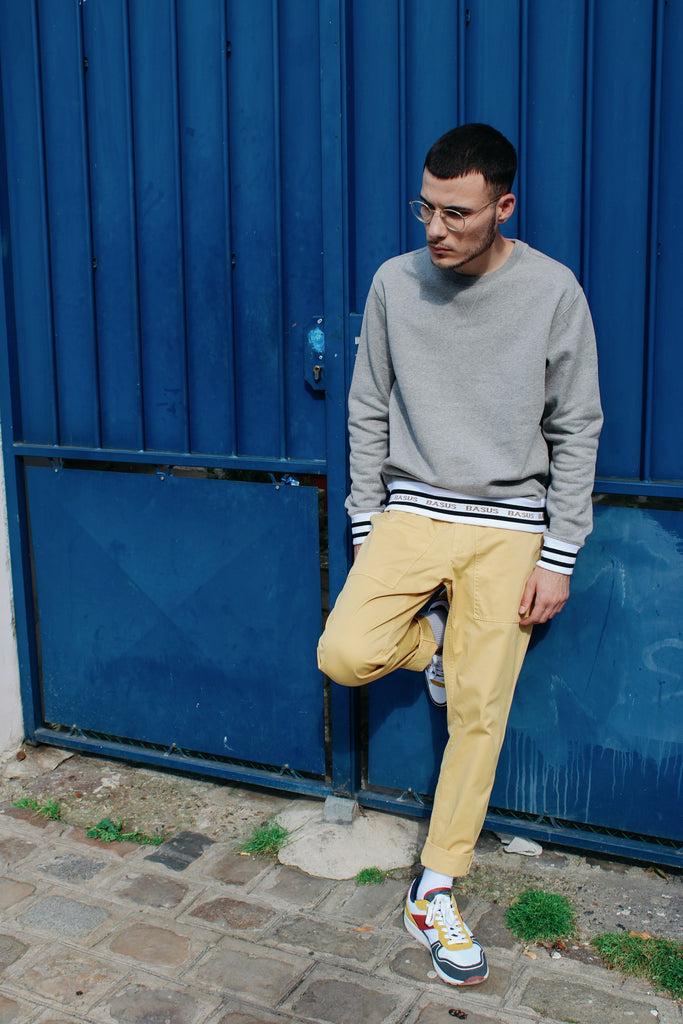 Pantalon Work - Jaune