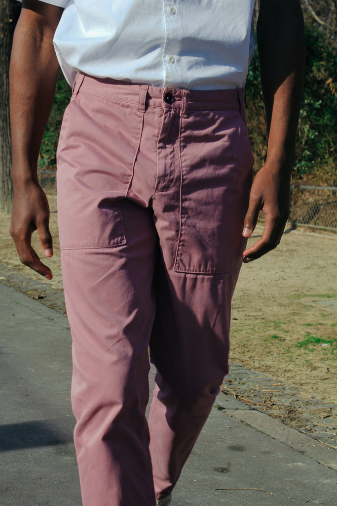 Pantalon Work - Rose