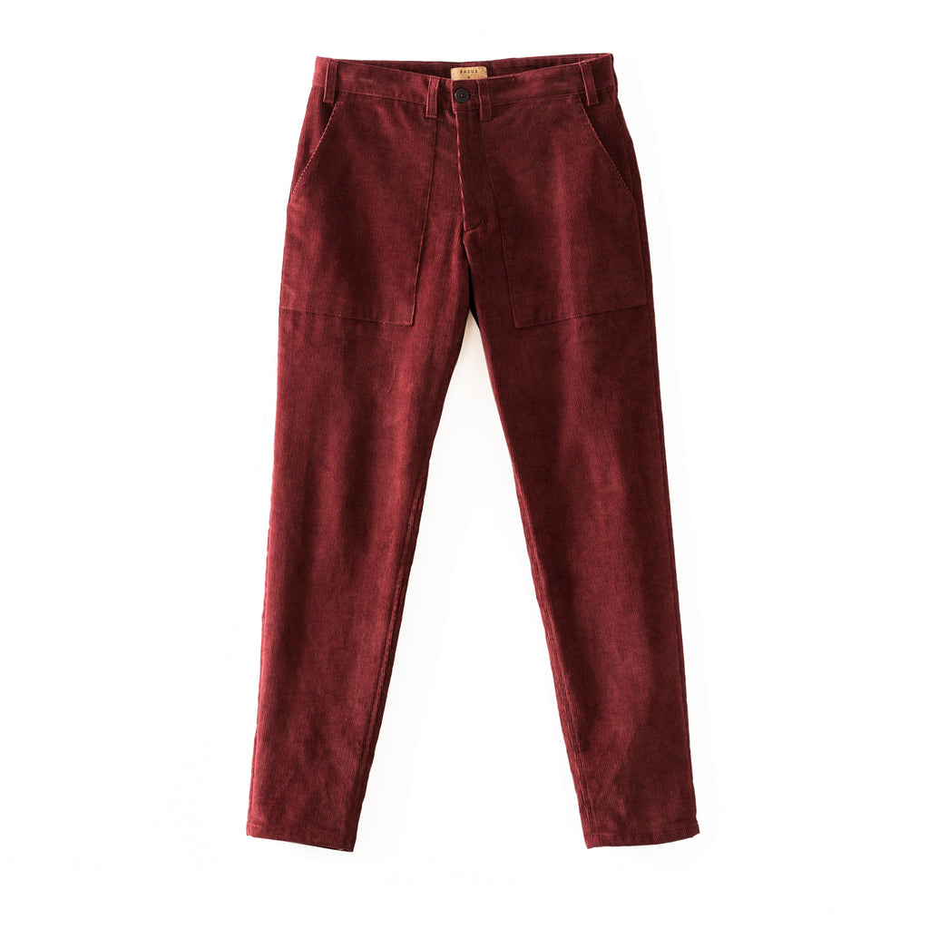 Pantalon Work Velvet - Wine