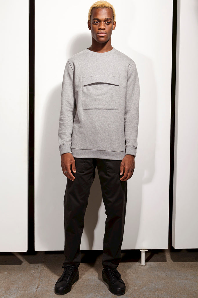 Sweat Front - Gris