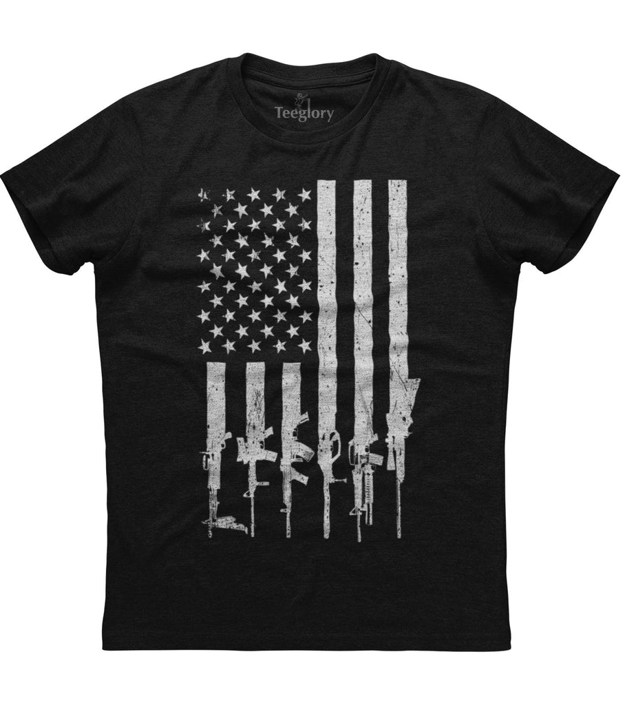 American Rifle Flag T-shirt