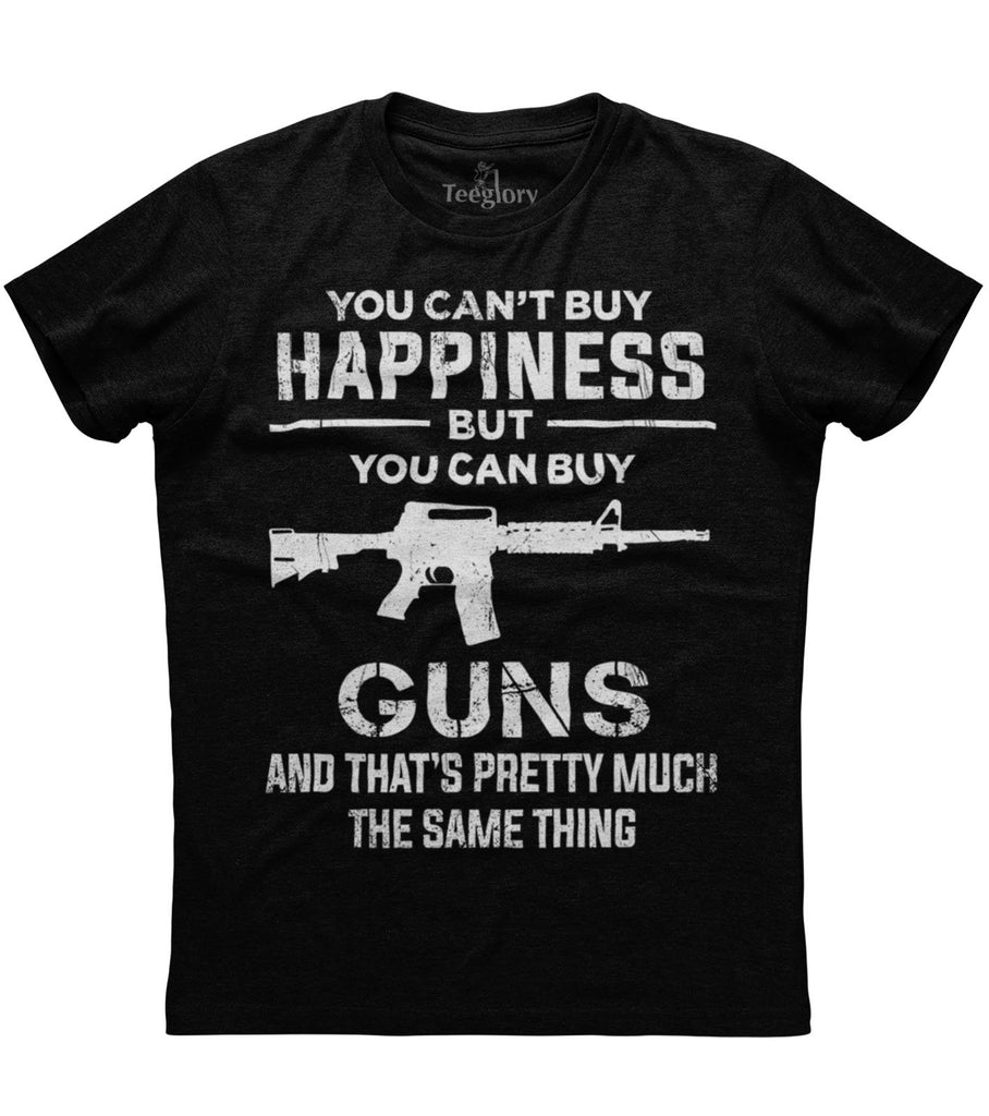 Guns And Happiness T-shirt