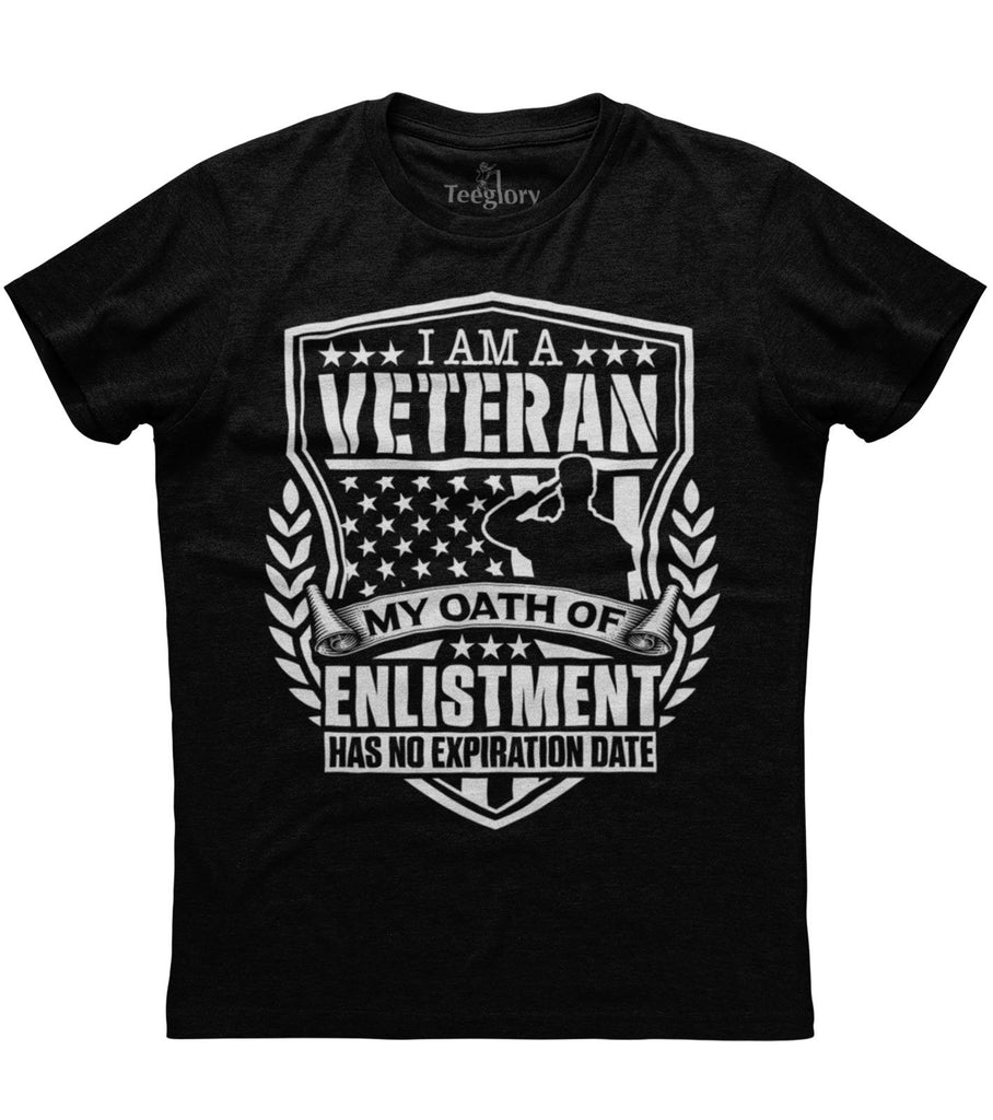 Veteran's Oath Of Enlistment T-shirt