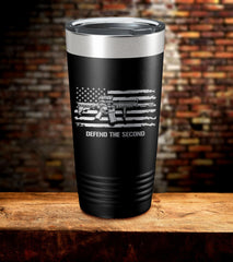Defend The Second American Flag Tumbler