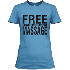Free Lotion With Your Massage Shirt