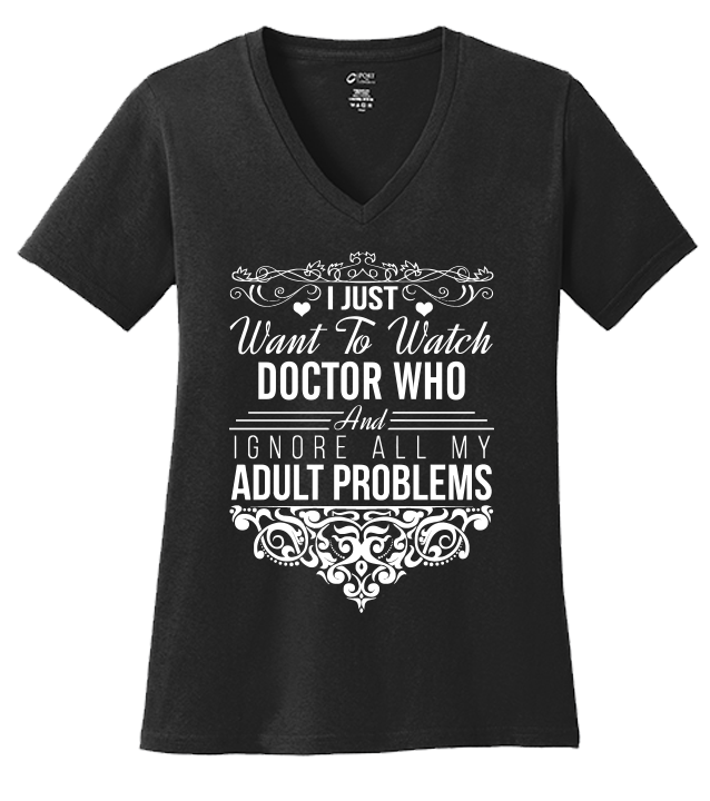 I Just Want To Watch Doctor Who T-shirt