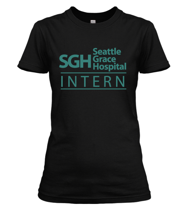 Seattle Grace Hospital Intern Shirt
