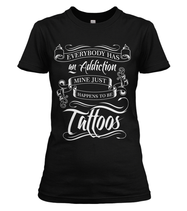 Tattoo Addiction Shirt 5Off
