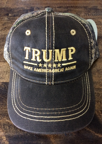 Trump MAGA 2020 Mossy Oak Camo Hat