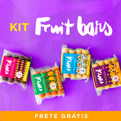 Kit Fruit Bars | 10 un.