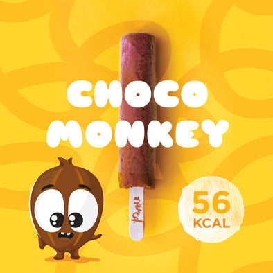 Choco Monkey Mini Picolé Saudável Kids